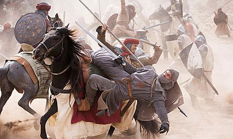 Battle scene real